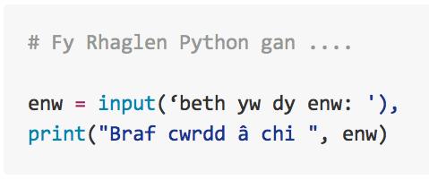 CA2 Python Gwers 4: Ydy cyfrifiaduron yn gallu meddwl dros eu hunain?