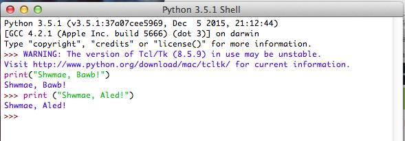 CA2 'Python' Gwers 3: Sgwrsio gyda chyfrifiadur!