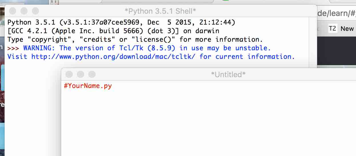 KS2: Starting with Python 2: – Taccle3 English site