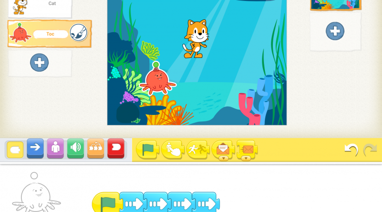 KS1/FP: Scratch Jr. Lesson 2