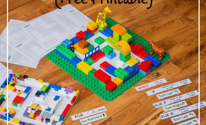 Making a lego maze