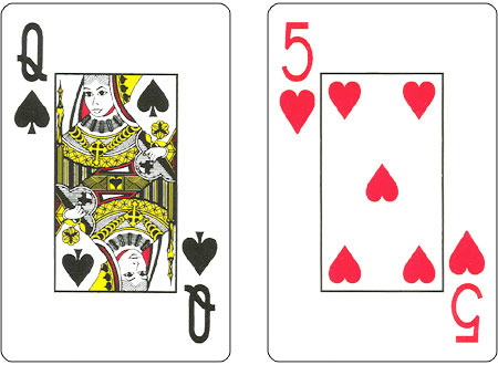 KS2 Human playing cards