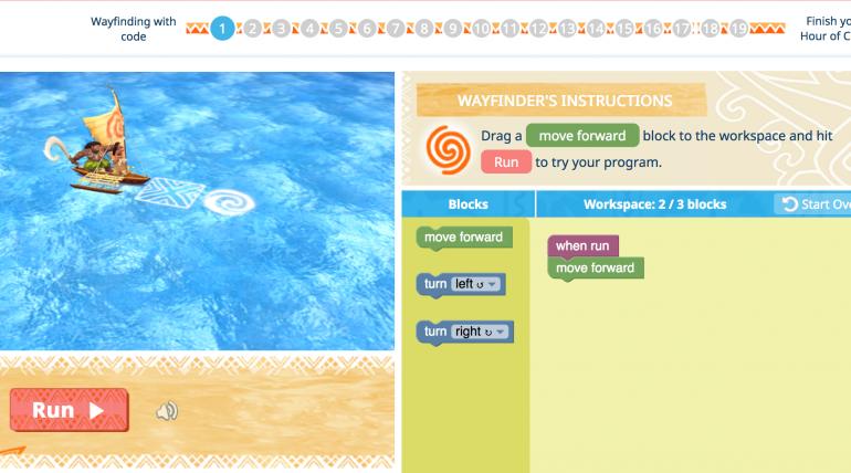 Disney lanza un juego para aprender programación