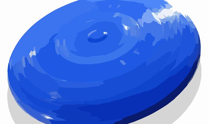 frisbee werpen – maak een loop